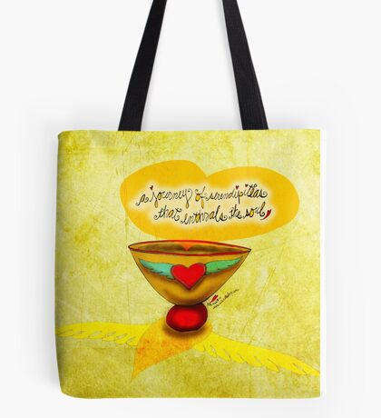 What my Tea says to me July 28 Tote Bag