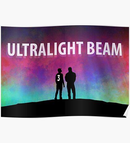 Kanye - Ultralight Beam Poster