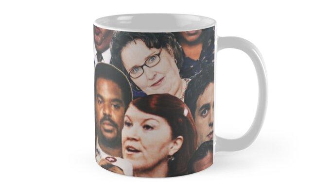 The Office Collage  Mug