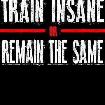 Train Insane - remain the same Black by Pickadree