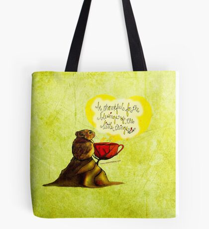 WHAT MY COFFEE SAYS TO ME SEPTEMBER 17, 2015 Tote Bag