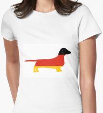 dachshund flag silhouette T-Shirt