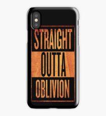 Straight Outta Oblivion iPhone Case