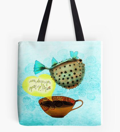 WHAT MY COFFEE SAYS TO ME MAY 29, 2015 Tote Bag