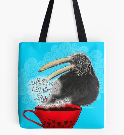 WHAT MY COFFEE SAYS TO ME DECEMBER 27, 2015 Tote Bag