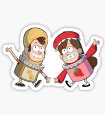 Dipdop and Mabes Sticker