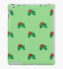 sequin christmas Holly iPad Case/Skin
