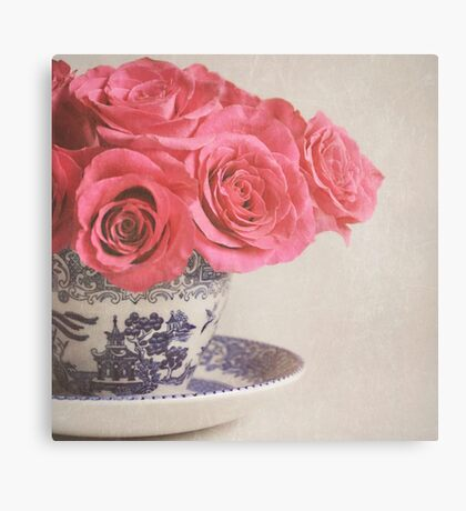 A nice Cup of Rosie Lee! Canvas Print