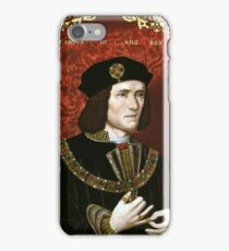 Portrait of King Richard III iPhone Case/Skin