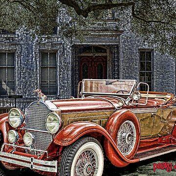 1929 Packard Custom Eight Roadster by crimsontideguy