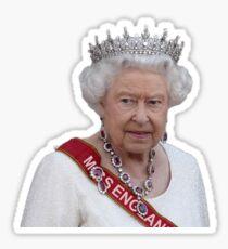 Queen Elizabeth II - Miss England Sticker
