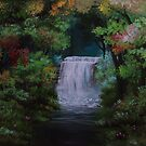Fantasy Waterfall by Ria Spencer