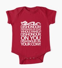 Dishonour on your cow!  Kids Clothes