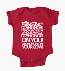 Dishonor on your cow. [US Spelling]  Kids Clothes
