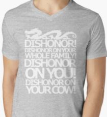 Dishonor on your cow. [US Spelling]  T-Shirt