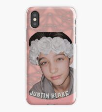Justin Drew Blake Flower Crown iPhone Case