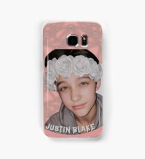 Justin Drew Blake Flower Crown Samsung Galaxy Case/Skin