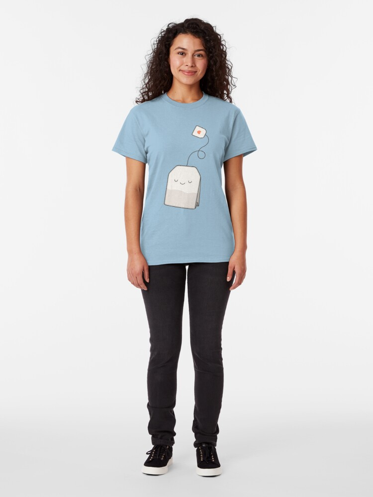 Alternate view of Tea time Classic T-Shirt