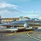 Gloster Meteor F.8 VZ467/01 by Colin Smedley