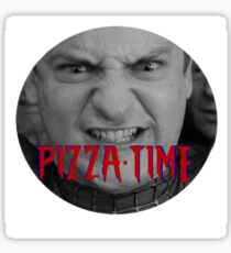 Pizza Time Tobey Sticker