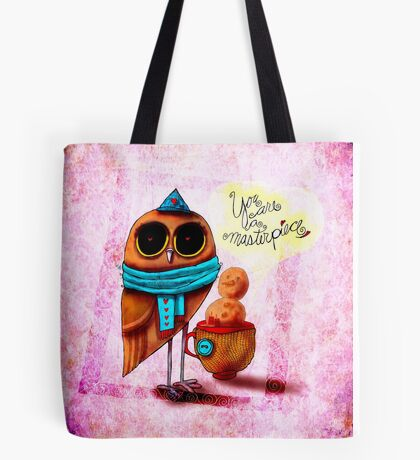 What my #Coffee says to me - January 11, 2015 Tote Bag