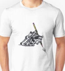 Art is a Struggle Unisex T-Shirt