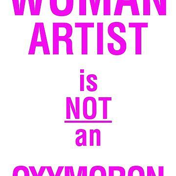Woman Artist is Not an Oxymoron by westlake72