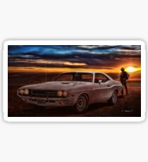 Vanishing Point Sticker