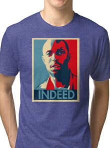 Omar The Wire Indeed Tri-blend T-Shirt
