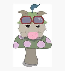 What does Teemo Poro say? Photographic Print