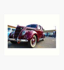 Classical Car - Mk II Art Print