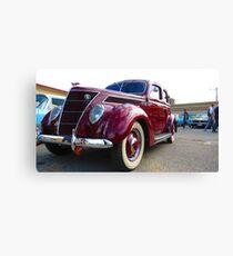 Classical Car - Mk II Canvas Print