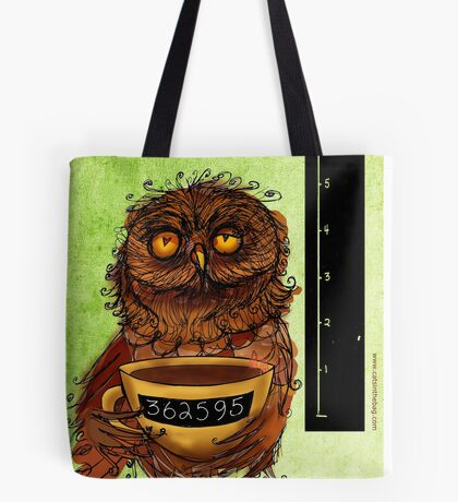 What my #Coffee says to me - August 27, 2013 Tote Bag