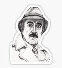 Inspector Clouseau Sticker
