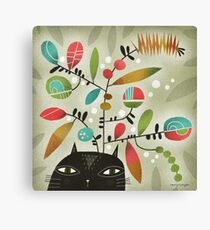 FLOWERING THOUGHTS Canvas Print