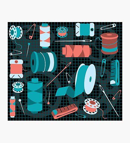 cotton on Photographic Print