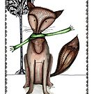 Cunning old fox by Jenny Wood
