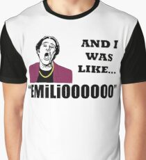 A Night At The Roxbury I Was Like Emilio Movie SNL  Graphic T-Shirt