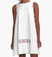 R(love)ution A-Line Dress