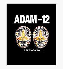 Adam-12 TV Series 70's Retro Photographic Print