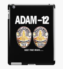 Adam-12 TV Series 70's Retro iPad Case/Skin