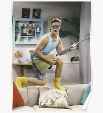 Zack Morris - Saved by the Bell Poster