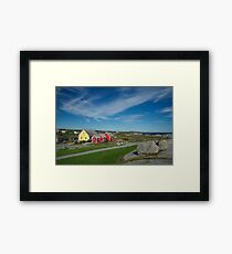 Peggys Sky Framed Print