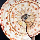 Sundial Shell by LindaZArtist