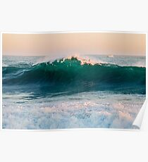 """The Wedge"" at Newport Beach Poster"