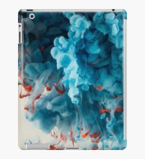 Abstract Colourful Paint in Water iPad Case/Skin