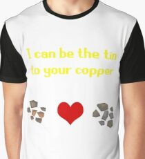 Tin and Copper Graphic T-Shirt