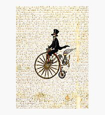 PENNY FARTHING VINTAGE BICYCLE Photographic Print