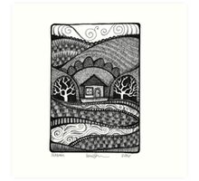 """Haven"" Smallscape Art Print"