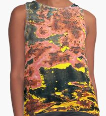Bubbling Cauldron Abstract Be Square Contrast Tank